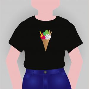 T-shirt Warme zomeravond